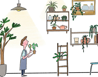 Daily life with plants