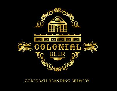 COLONIAL BEER Corporate Branding