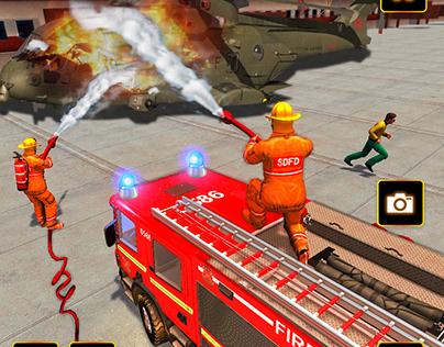 fire rescue post