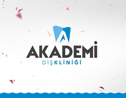Akademi Diş Kliniği // Web - Kurumsal Kimlik