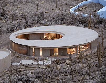 6130 Residence in Arizona by Chen + Suchart Studio