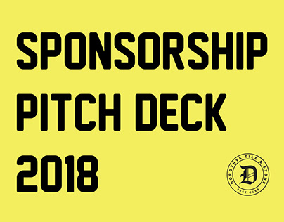 Sponsorship Pitch Presentation
