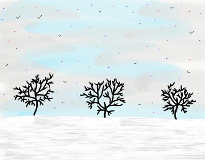 Confetti Snow Showers