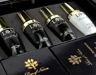 Luxe of Nature - Packaging, photographies & website