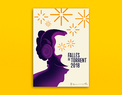 Official poster for Falles de Torrent 2018