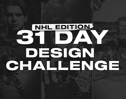 31 Day Design Challenge   NHL Edition (FULL PROJECT)