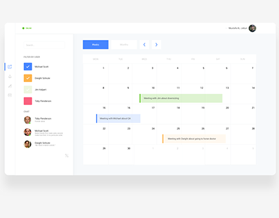 UI Daily challenge - Time Management dashboard