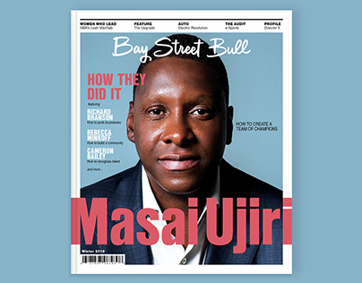 BSB Winter Issue - Masai Ujiri
