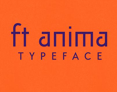ft anima | free typeface