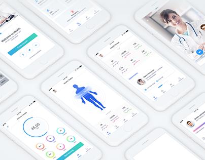 Docwell App - Medical UI KIT