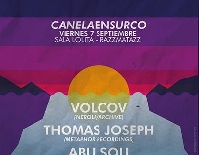 CANELA EN SURCO - Poster illustration & design