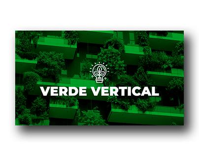 Apresentação PPT - Verde Vertical
