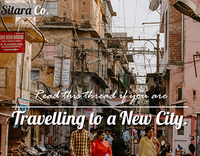 Travelling to a new city- Blog