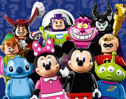 LEGO Minifigures Series Disney