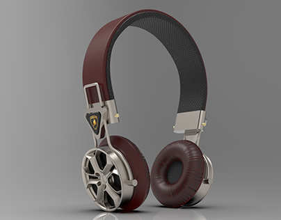 Lamborghini Headphones