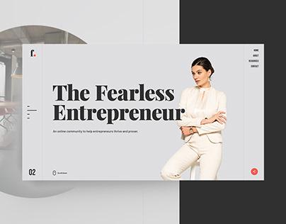 The Fearless Entrepreneur