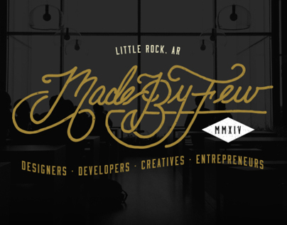 Made By Few Tech / Creative Conference - Branding