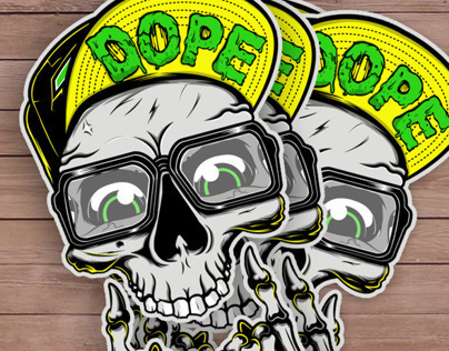 Used Work Vans >> Dope Skull on Behance