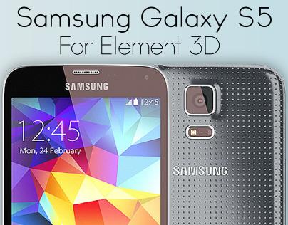 Samsung Galaxy S5 for Video Copilot's Element 3D