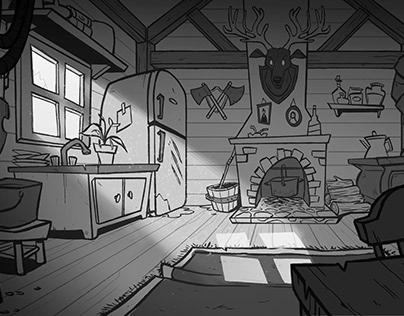 Hunter's kitchen