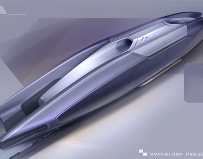 Hyperloop App Concept
