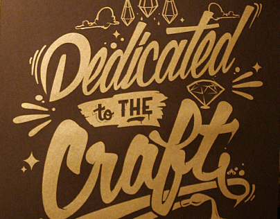 :: Dedicated to the Craft (Poster)  ::