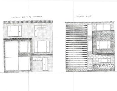 Casas Barrio El Polo. Proyecto Habitar. 5 Semestre