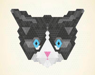 Grafikdruck Tiermotive  / Graphic Print Animals