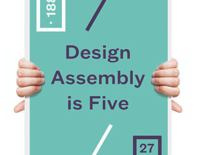 Design Assembly is Five Poster