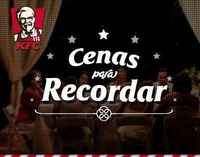 KFC® Cenas para Recordar - Web Design & UI