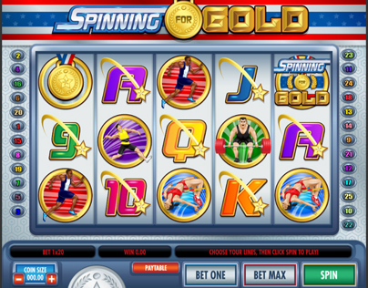 100% Vector: Spinning For Gold Slot Game