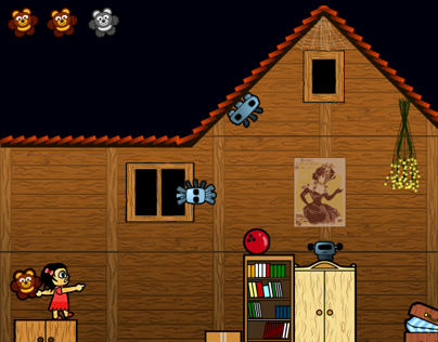 Scary House game project