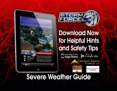 Severe Weather Guide Web Banners