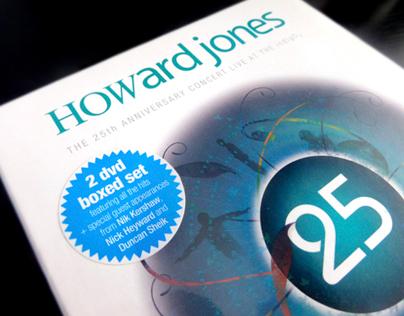 Howard Jones '25th Anniversary' DVD packaging