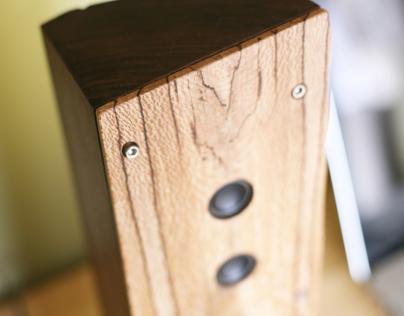 Reclaimed Wood Bluetooth Speaker