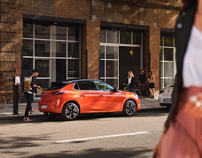 Opel Corsa-e Campaign