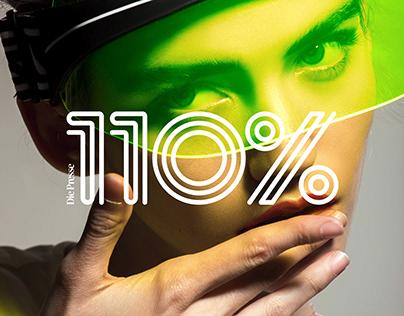 Die Presse 110% – Editorial Design