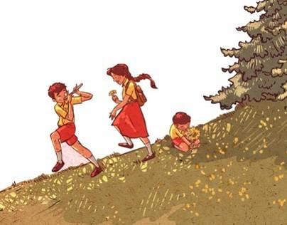A Long Walk for Bina - Ruskin Bond (Rupa Publications)