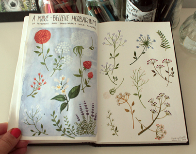 Personal Project: SKETCHBOOKS