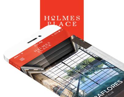 Holmes Place Mobile App