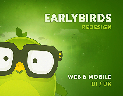 EarlyBirds - Application & User Interface