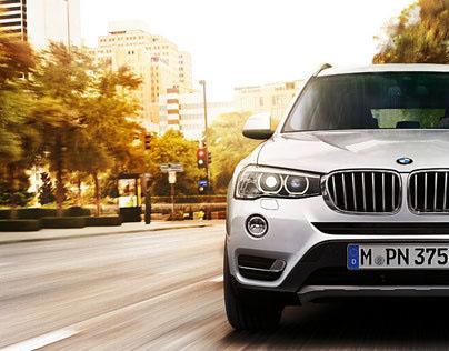 BMW X3 - NEXT CHALLENGE, PLEASE.