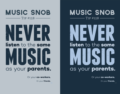 Never Listen to the Same Music — Music Snob Tip #128