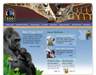 Website - Denver Zoo