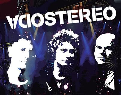 Soda Stereo - Poster