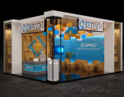 CEPACK Booth In Food Africa & Pack Process Exhibition