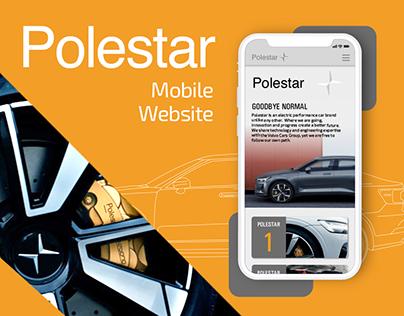 Polestar Mobile Website