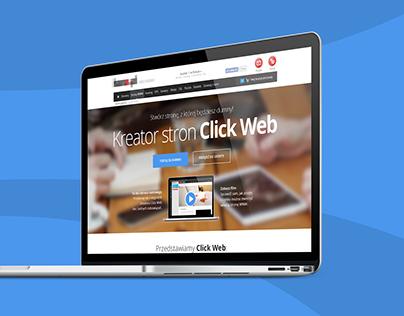 New webhosting service - landing page (2014)