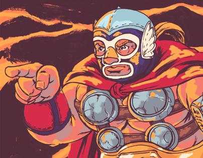 Marvel Luchadores
