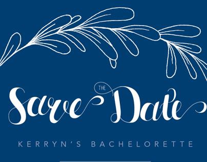 Bachelorette | Save the Date